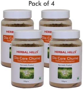 Herbal Hills Dia Care Churna - 100 g (Pack of 4)