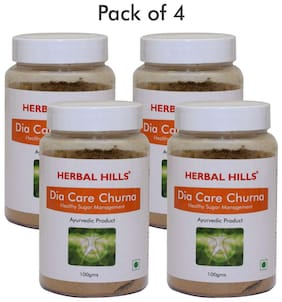 Herbal Hills Dia Care Churna - 100 g (Pack of 4)