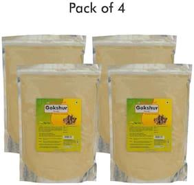 Herbal Hills Gokshur Powder - 1 kg powder - Pack of 4