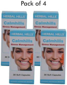Herbal Hills Calmhills 30 Capsule - Pack of 4