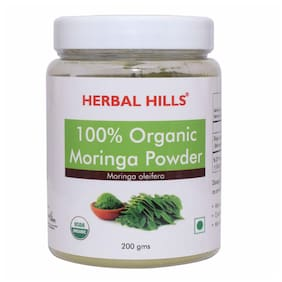 Herbal Hills Organic Moringa powder 200 g