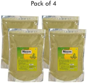 Herbal Hills Neem patra powder - 1 kg powder - Pack of 4