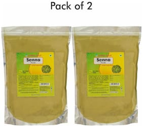 Herbal Hills Senna powder - 1 kg powder - Pack of 2