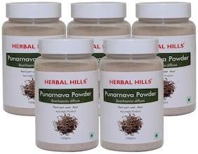 Herbal Hills Punarnava Powder - 100 g (Pack of 5)