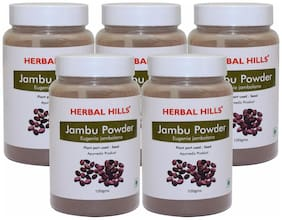 Herbal Hills Jambu Beej powder- 100 g (Pack of 5)