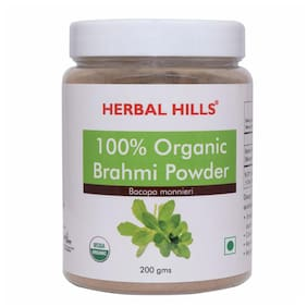 Herbal Hills Organic Brahmi Powder 200g