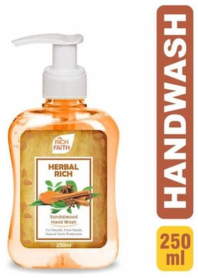 Herbal Rich Sandalwood Hand Wash 250ml