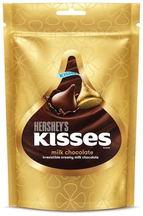 Hershey's Kisses Milk Chocolates Pouch 100 g