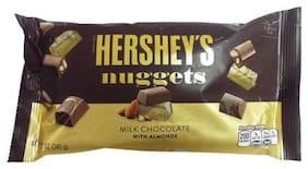 Hersheys Nuggest - Milk Chocolate With Almonds 340 g