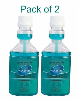 Hexidrin Mouthwash 150 ml (Pack of 2)