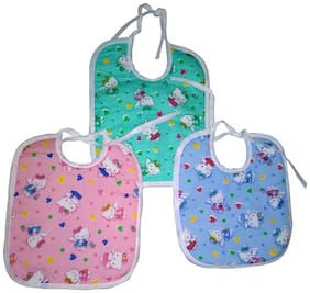 High Quality Cotton Baby Bibs Small - Set Of 3