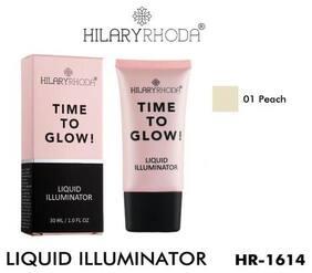 Hilary Rhoda Time To Glow Liquid Illuminator Peach;Hr-1614 (1) 30 ml ( Pack of 1 )