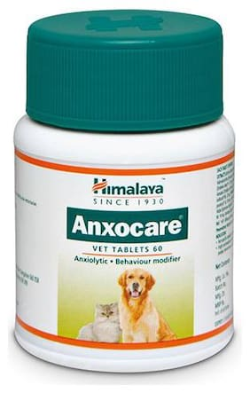 Himalaya Anxocare - Vet Tablets 60 Tabs