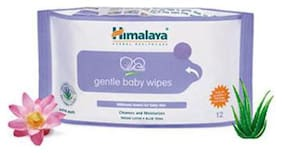 Himalaya Baby Wipes - Gentle 12 pcs