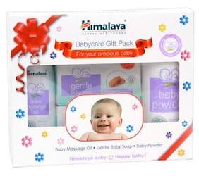 Himalaya Baby Kit - Baby Massage Oil, Gentle Baby Soap, Baby Powder 100 ml, 150 gm & 100g