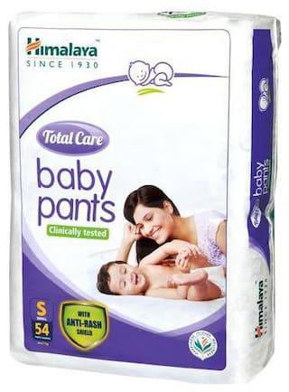 Himalaya Baby Baby Pants - Total Care Small Size 54 pcs
