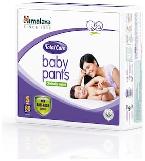 Himalaya Baby Pants (80 Count) S