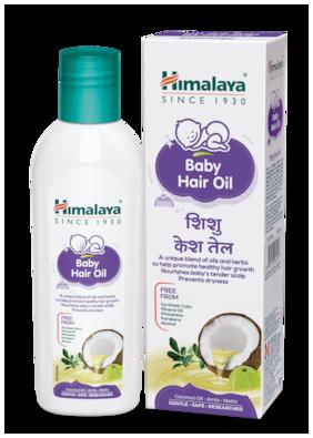 Himalaya Baby Hair Oil 100 ml (Pack of 1)