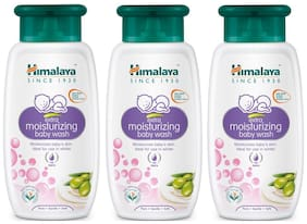 Himalaya Extra Moisturizing Baby Wash - 100 ml (Pack of 3)