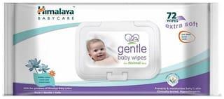 Himalaya Gentle Baby Wipes 72 Wipes
