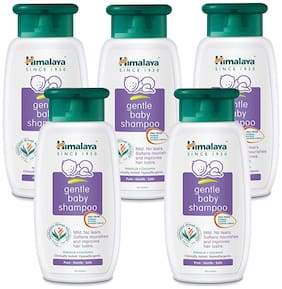 Himalaya Gentle Baby Shampoo 400 ml (Pack of 5)