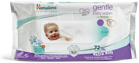 Himalaya Gentle Baby Wipes 72S