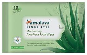 Himalaya Moisturizing Aloe Vera Facial Wipes 10 Pulls