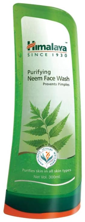 Himalaya PERSONAL CARE FACE CARE Purifying Neem Face Wash 300 ml (Pack Of 1)
