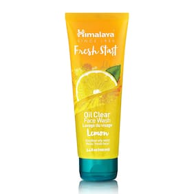 Himalaya PERSONAL CARE FACE CARE Fresh Start Oil Clear Lemon Face Wash 100 ml (Pack Of 1)