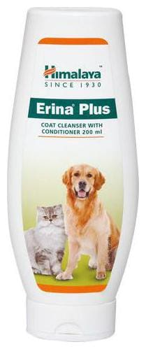 Himalaya Pet Care Dog Cleanser - With Conditioner  Erina Plus Coat 200 ml