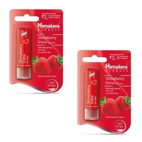 Himalaya Strawberry Shine Lip Care 4.5 gm x 2