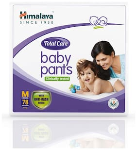 Himalaya Total Care Baby Pants Diapers Medium 78 Pcs