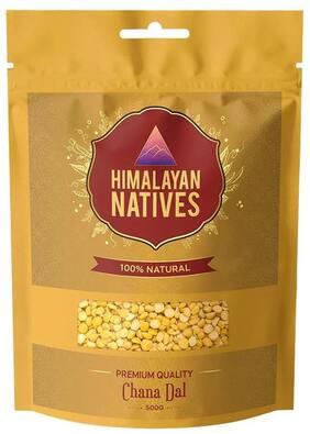 Himalayan Natives Premium Quality Chana Dal 500g