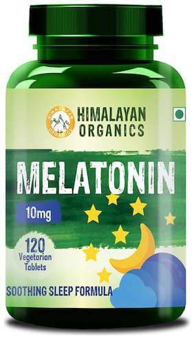 Himalayan Organics Melatonin 10Mg (Healthy Sleep Cycle) - 120 Tablets (120)