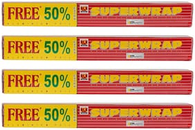 Hindalco Superwrap Aluminium Foil 4 m (pack of 4)