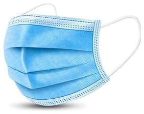 HM Evotek 3 Ply Disposable Surgical Meltblown Face Mask  (Pack of 20)