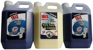 HOME CLEANING COMBOS: 2 L TOILET BOWL CLEANER & 1 L LIQUID HAND WASH- PERFUME OMG. TOTAL 3 L