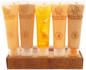 Home Use - Orange Moisturizing Facial Kit (Chemical Free - Single Use) (Unisex) by Bella Vita Organic