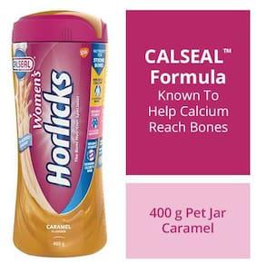Horlicks Women'S Health & Nutrition Drink Caramel Flavour 400 g