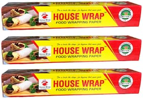 House Wrap   Food Wrapping Paper   10 Meter Guaranteed (Pack of 3)