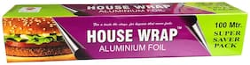 House Wrap | Thick Aluminum Foil |100 Meter super saver pack |18 Microns