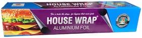House Wrap   Thick Aluminum Foil   72 Mtr  11 Microns