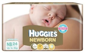 Huggies Diaper - New Born Up to 5 Kg