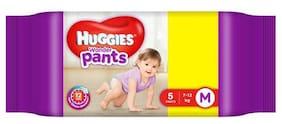 Huggies Diapers - Medium Size, Wonder Pants 5 pcs