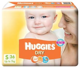 Huggies New Dry Small Size Diapers 36 pcs