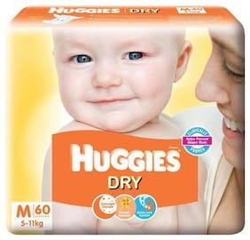 Huggies New Dry Medium Size Diapers 60 pcs