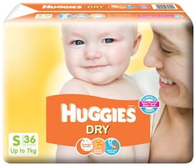 Huggies New Dry Small Size Diapers