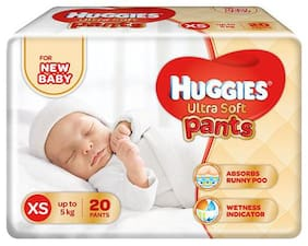 Huggies Ultra Soft XS Size Diaper Pants 20 pcs
