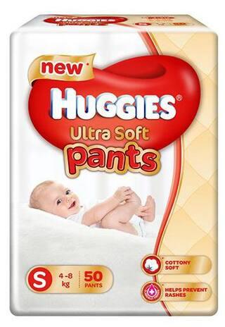 de4956fce Buy Huggies Ultra Soft Pants Small Size Premium Diapers 50 pcs ...