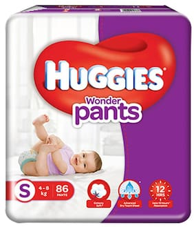 Huggies Wonder Pants Small Size Diapers 86 pcs